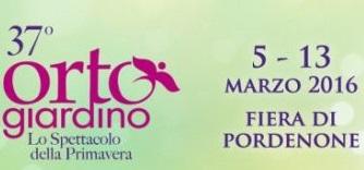 FIERA ORTO GIARDINO DI PORDENONE DAL 5 AL 13 MARZO