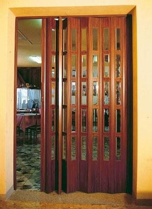 Porte a soffietto tende da sole - Porta a soffietto in legno ...